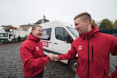 Rent van in Lappeenranta